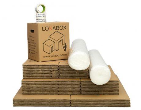 Pack Boxes Standard Lokabox