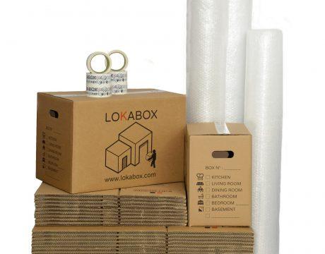 Pack Boxes Superbig Lokabox